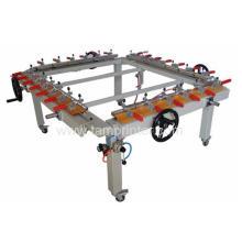 Máquina de estiramiento de pantalla mecánica Newton alta