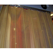 Beautiful color decorative wire mesh, metal mesh curtain, metal curtain