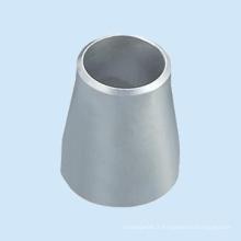 Acier au carbone ASME A234 Wpb ANSI B16.9 Bw Réducteur excentrique