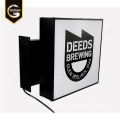Outdoor Customized Advertising Light Boxes Zeichen