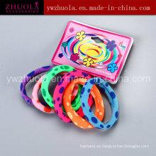 Banda de pelo colorido impreso para las mujeres