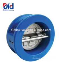 ANSI 6 Inch Price Dual Plate Rubber Sandwich Spring Loaded Wafer Water Check Valve