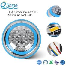 Luzes para piscina LED IP68 montadas na superfície subaquática