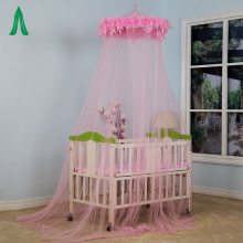 Professional circular baby strollers mosquito net