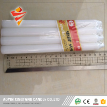 Paket Shrink 6pcs White Candle ke Afrika