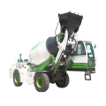 volumetric truck mounted concrete mixer truck feed mixer pump for sale