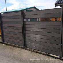 New products wpc fence exterior wpc fence panels