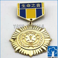 Schönes Metall Marine-Abzeichen Zink-Legierung Material