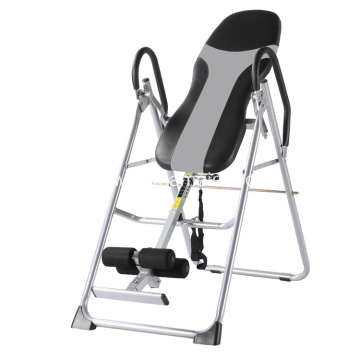 Indoor exercise equipment adjustable height inversion table