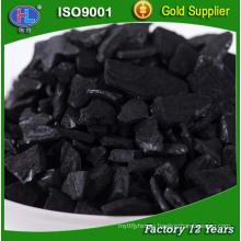 Carbón activado granular de la aplicación industrial en campo de acabamiento del metal