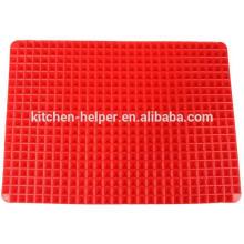 Novo Produto Reutilizáveis Food Grade Non-stick Silicone Baking Mat Set