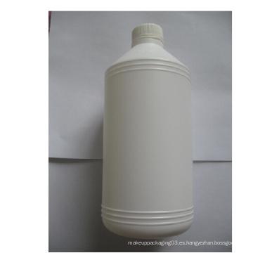Botella plástica química del PE de 1000ml con la tapa de tornillo