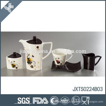 Современный уникальный цветочный декор дизайн чайный набор экологически чистый турецкий чайный горшок