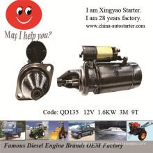 Beinei 492q Diesel Engine Bj212, Nj136 Engine Used Car Starter