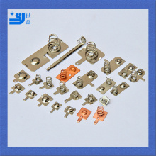 Button battery shrapnel metal stamping parts