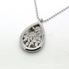 Custom Perfume Locket Stainless Steel Diffuser Necklace
