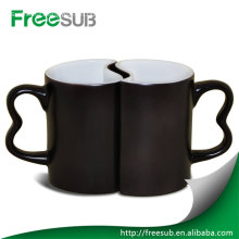Personalized couple magic coffee mug for love