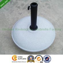 26kg Runde konkrete Regenschirm Basis für Garten Schirme (Basis-R026C)