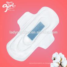 Súper absorbente y uso diurno de las mejores señoras almohadillas sanitarias de iones negativos