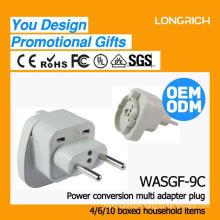 Wholesale makel wall switch and socket,made in china three pin socket adaptor