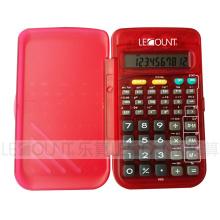 56 Calculatrice scientifique de fonction 10 chiffres avec couverture avant (LC709B)