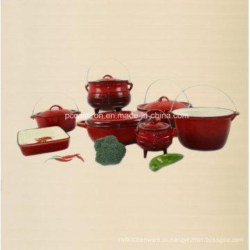 7PCS эмаль чугунная посуда набор поставщиков из Китая