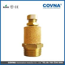 brass material air muffler pneumatic air silencer