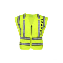 High Visibility Reflective Safety Vest with ANSI