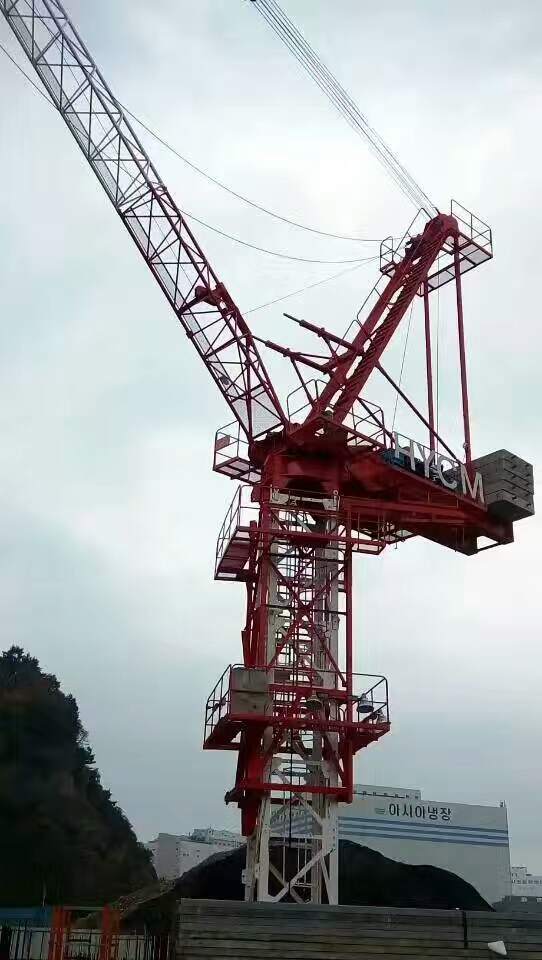 10t Luffing Crane Derricking Tower Crane For Building