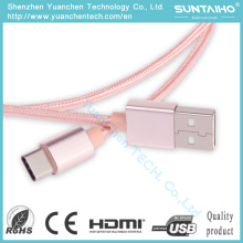 Cable de alta calidad tipo C Cable Fast Charging Sync USB Cable