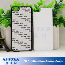 Mais novo 3d subimation em branco tampa do telefone móvel para samsung