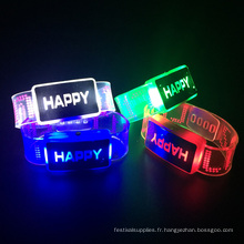 bracelet led pour enfants