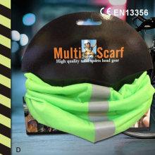 Светоотражающий головной убор с несколькими шарфами