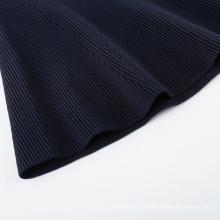 20ALW016 High quality women custom sweater dress flare skirt