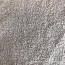 tela de manta de lana polar sólida