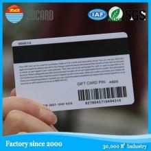 Посещение магнитной визитной карточки ПВХ-карты VIP