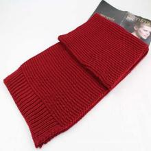 Beautiful winter accept widen long knit scarf and shawl custom logo knitting scarf chunky