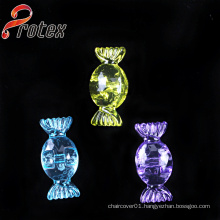 Clear Candy Shape Decorative Acrylic Ornament