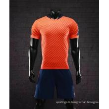 Taille 8XL usine vente chaude maillot de football uniformes