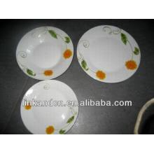 Haonai bulk plain ceramic tasting plate set,dinner plate sets