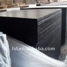 Madera contrachapada negra para la construcción de la casa