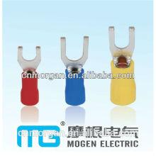 New type mat-tin plated surface flange spade screw terminal