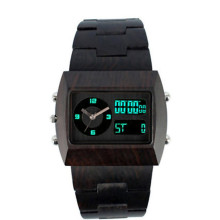 Hlw103 OEM Männer und Frauen aus Holz Uhr Bambus Uhr hohe Qualität Armbanduhr