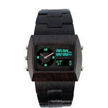 Hlw103 OEM Men′s and Women′s Wooden Watch Bamboo Watch High Quality Wrist Watch