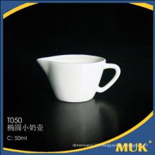 fine quality stock wholesale 2016 white dinner milk pot