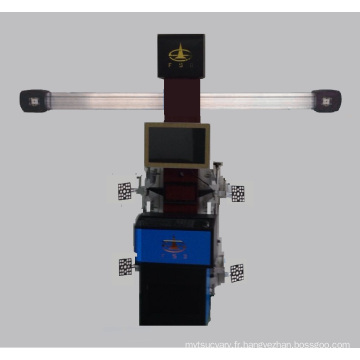 Instrument de positionnement à quatre roues de camion 3D