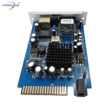 Card type Gigabit Gigabit Ethernet Board single mode 20-80km distance reach buy direct from China factory