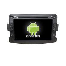 7inch android din auto dvd player für renault duster / logan / sandero mit spiegel link / tv / am / fm / bluetooth / usb / sd karte / GPS