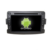 7inch android two din Car DVD Player para renault duster / logan / sandero Con mirror link / TV / AM / FM / Bluetooth / USB / SD CARD / GPS