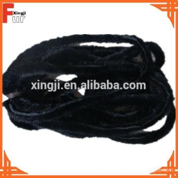 2cm width Mink Fur Piping